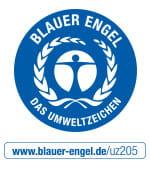 Blauer Engel zertifiziert