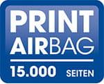 PRINT AirBag 15.000 Seiten Logo