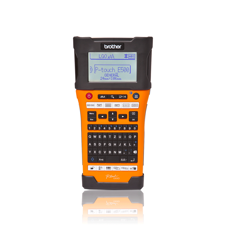 Brother PTE500VPG1 P-Touch Beschriftungsger/ät TZE 3.5 24 mm
