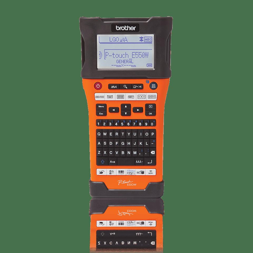 Pt E550wvp Beschriftungsgert Online Kaufen Brother Label Tape Tze M951 24mm Black On Silver Matt