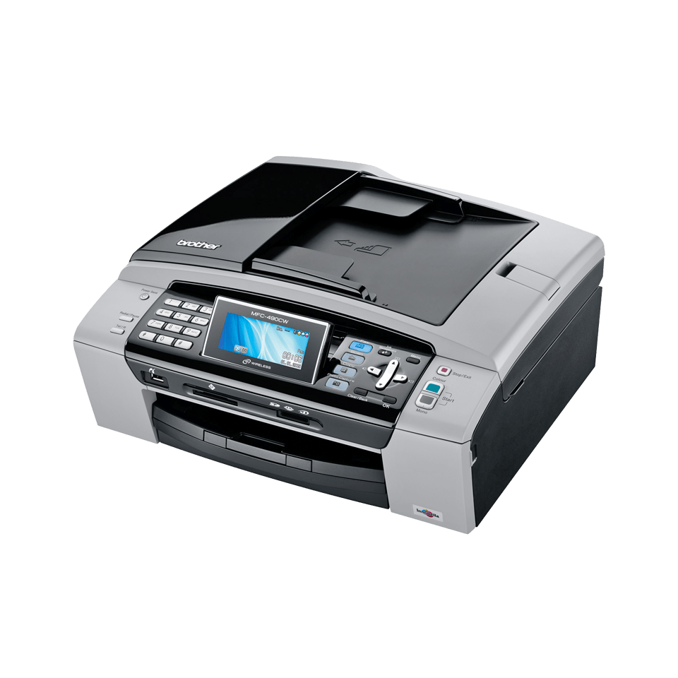 Mfc 490cw Multifunktionsdrucker Mit Lan Wlan Brother