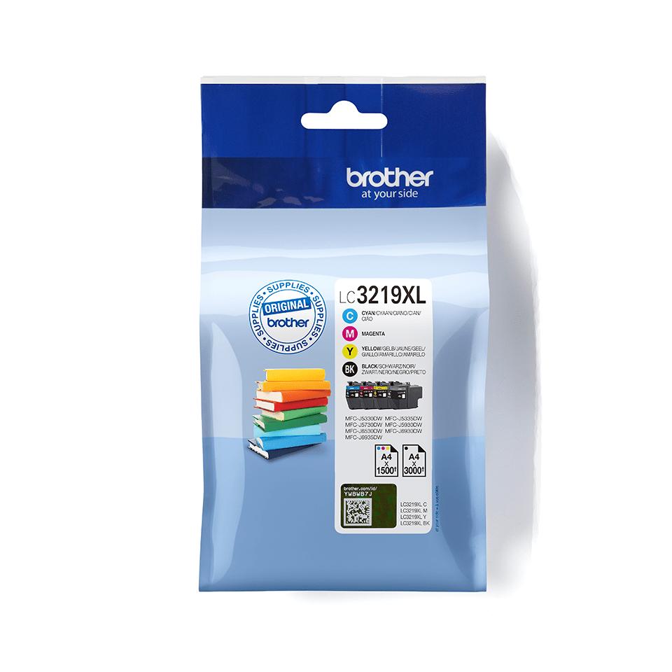 LC-3219XL | Original Tintenpatronen Value Pack | Brother