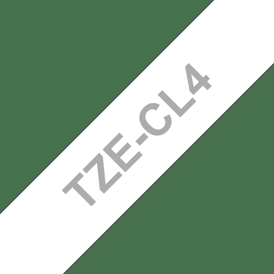 Reinigungskassette Brother original P-touch TZeCL4 18mm bis zu 100 Reinigungen
