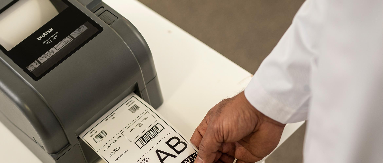 TD-Etikettendrucker