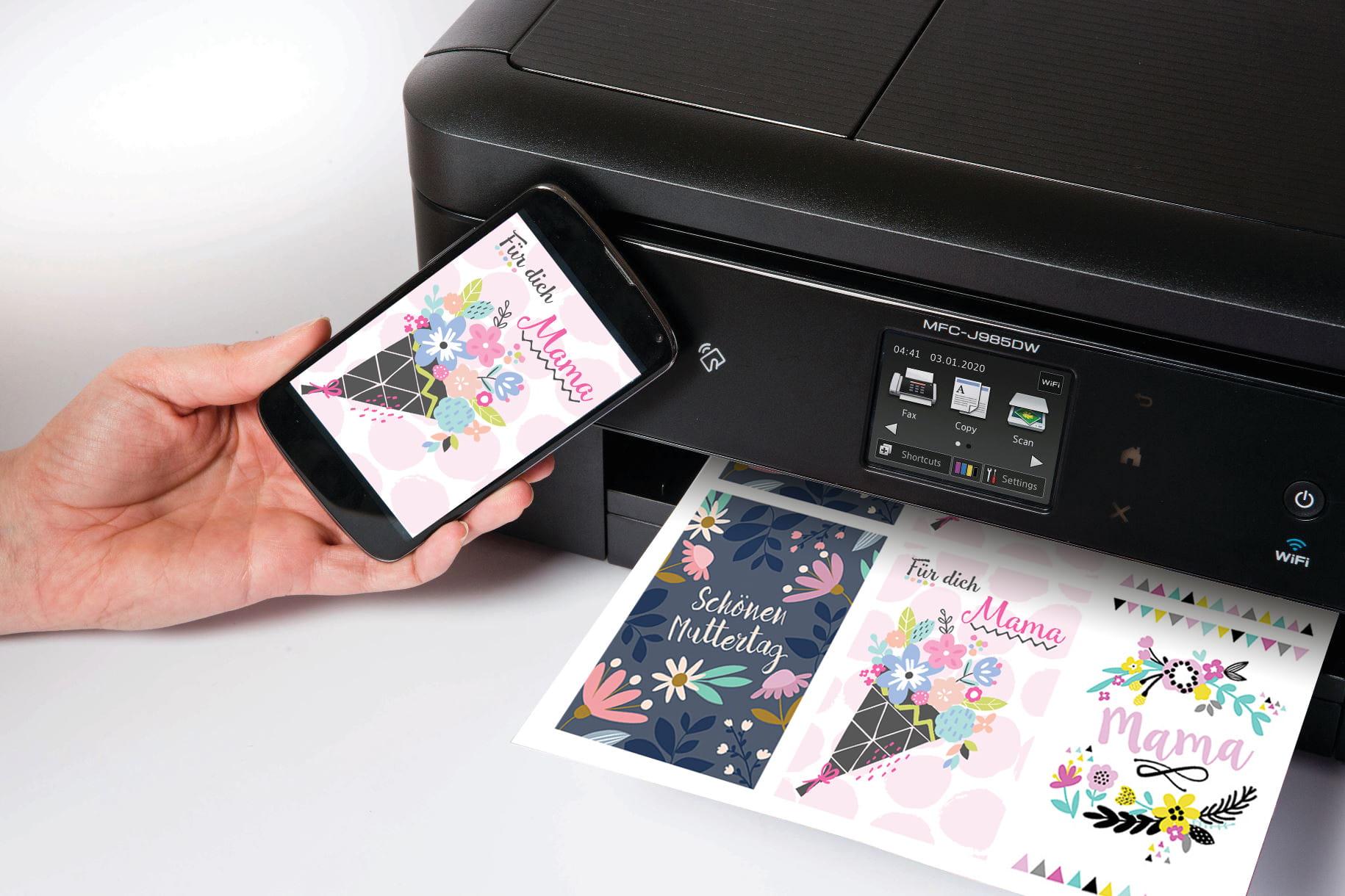 Tintenstrahldrucker MFC-J985DW