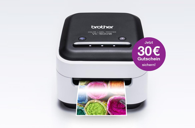VC-500W Etikettendrucker mit Ausdruck