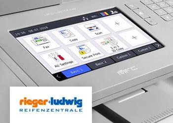 Brother Farblaserdrucker mit großem Touch-Display