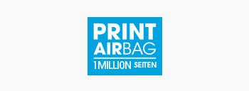 PRINT AirBag Logo, Druckvolumen 1.000.000 Seiten
