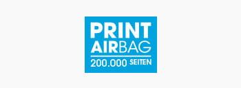 PRINT AirBag Logo, Druckvolumen 200.000 Seiten