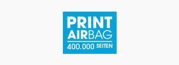 PRINT AirBag Logo, Druckvolumen 400.000 Seiten