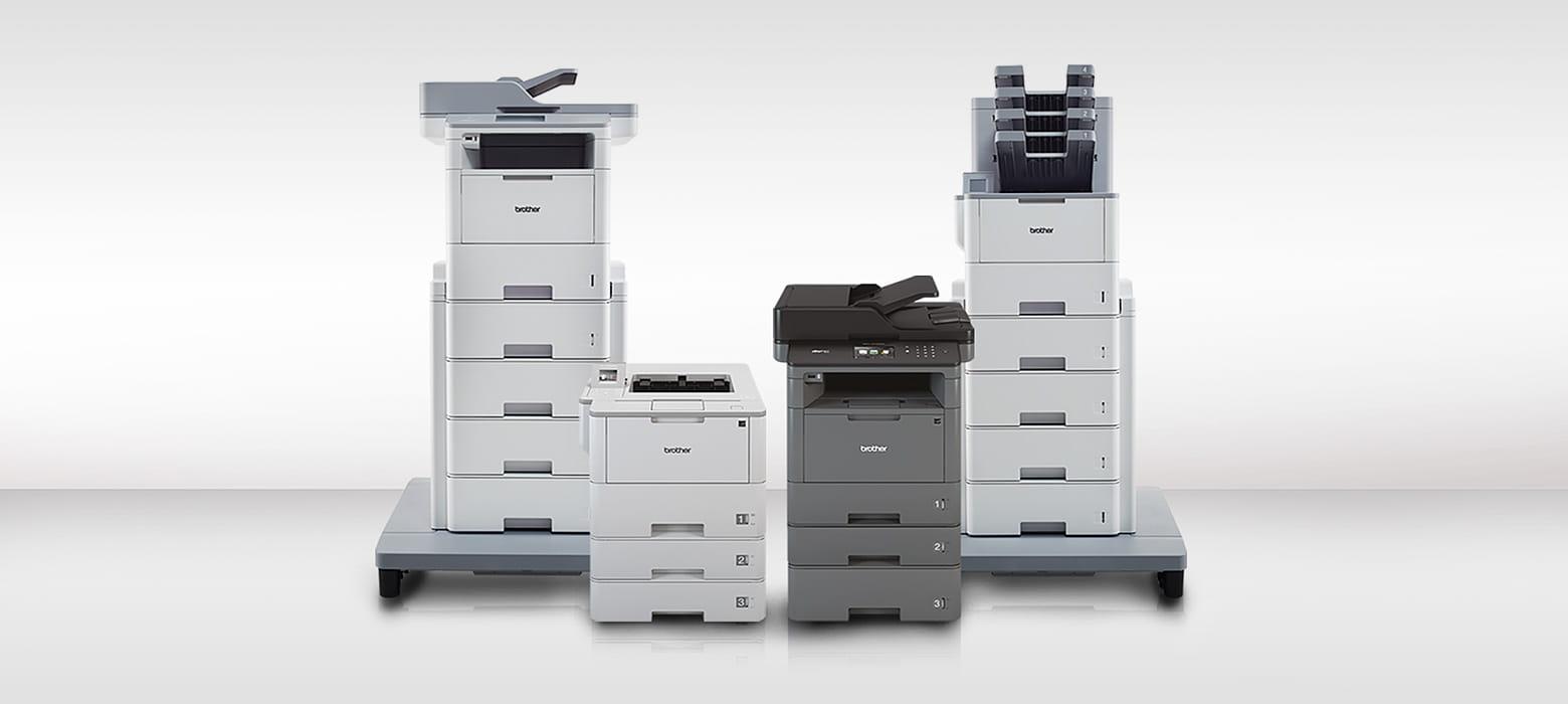 Drucker der neuen Monolaser L5000er/L6000er Serie