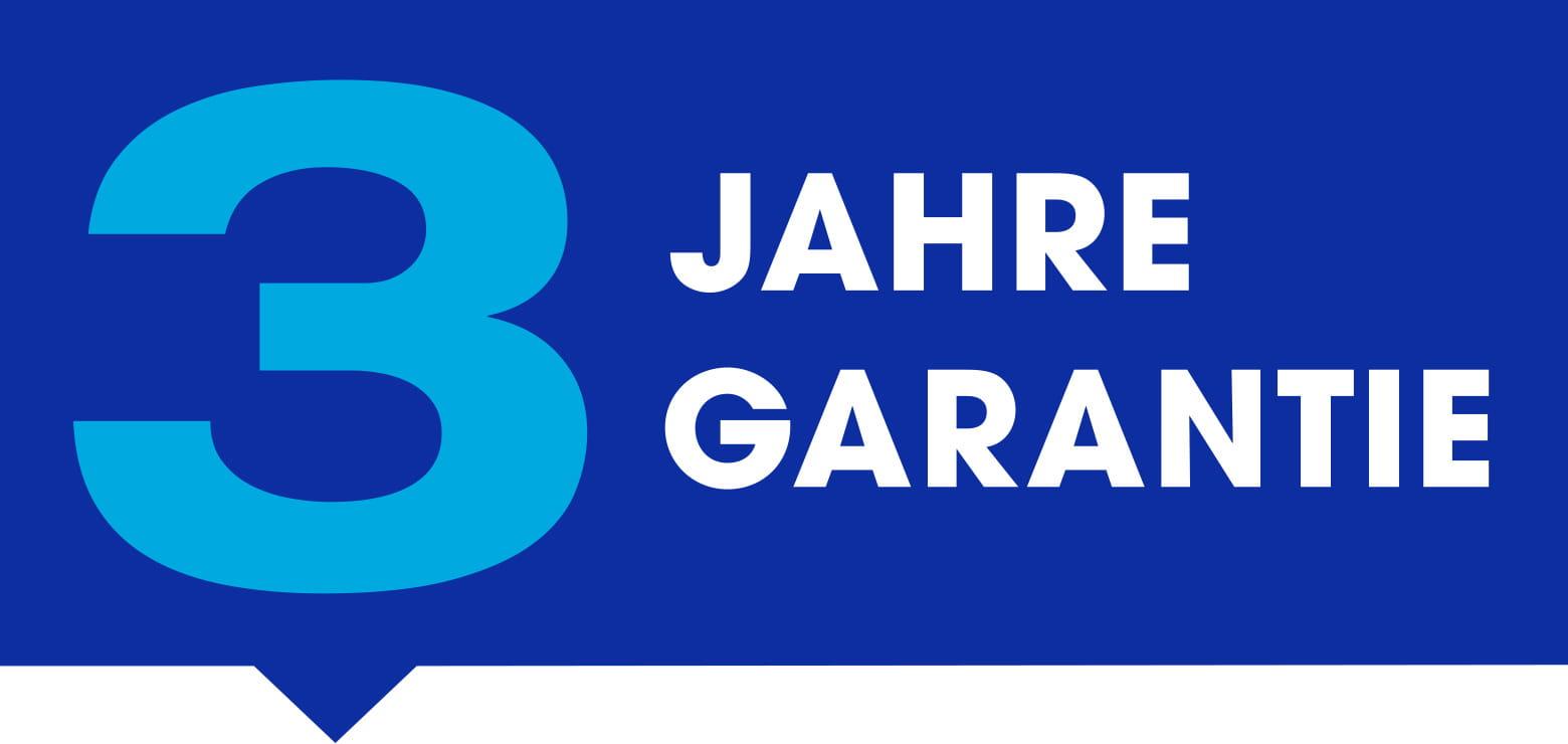 3-Jahre-Garantie-Logo