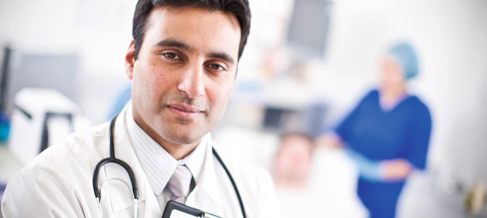 Doktor im Krankenhaus