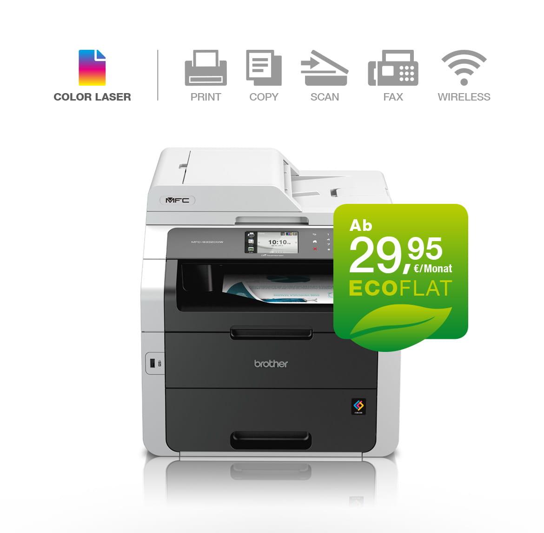 Brother Farblaserdrucker MFC-9330CDW