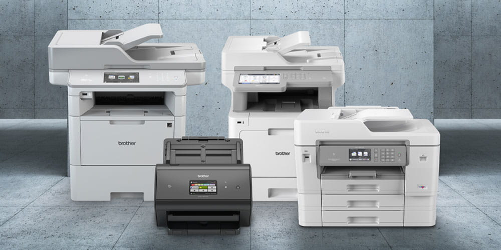 Brother Scanner und Drucker