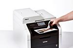 MFC-9142CDN ermöglicht beidseitiges Drucken