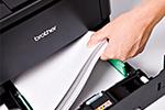 HL-5440D mit 250 Blatt Papierkassette