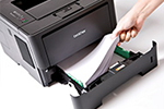 HL-5450DN ermöglicht professionelles Papiermanagement