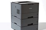 HL-L5200DW mit bis zu 3 Papierkassetten