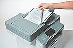 MFC-L6800DWT ermöglicht beidseitiges Drucken, Kopieren, Scannen und Faxen