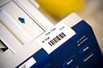 PT-9600 verfügt über gängige Barcodes