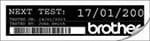 PT-9600 verfügt über eine Echtzeituhr mit Datumsfunktion