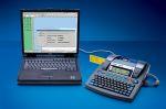 Brother PT-9600 an Laptop angeschlossen