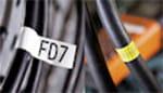 PT-E300VP ermöglicht die Beschriftung von Kabeln