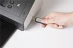 ADS-2600We ermöglicht Scannen direkt auf den USB-Stick
