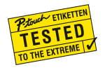 PT-E300VP macht dauerhafte Etiketten