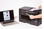 MFC-J5720DW ermöglicht beidseitiges Drucken, Kopieren, Scannen und Faxen