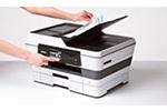 MFC-J6920DW ermöglicht Drucken, Scannen, Kopieren und Faxen bis zum Format DIN A3