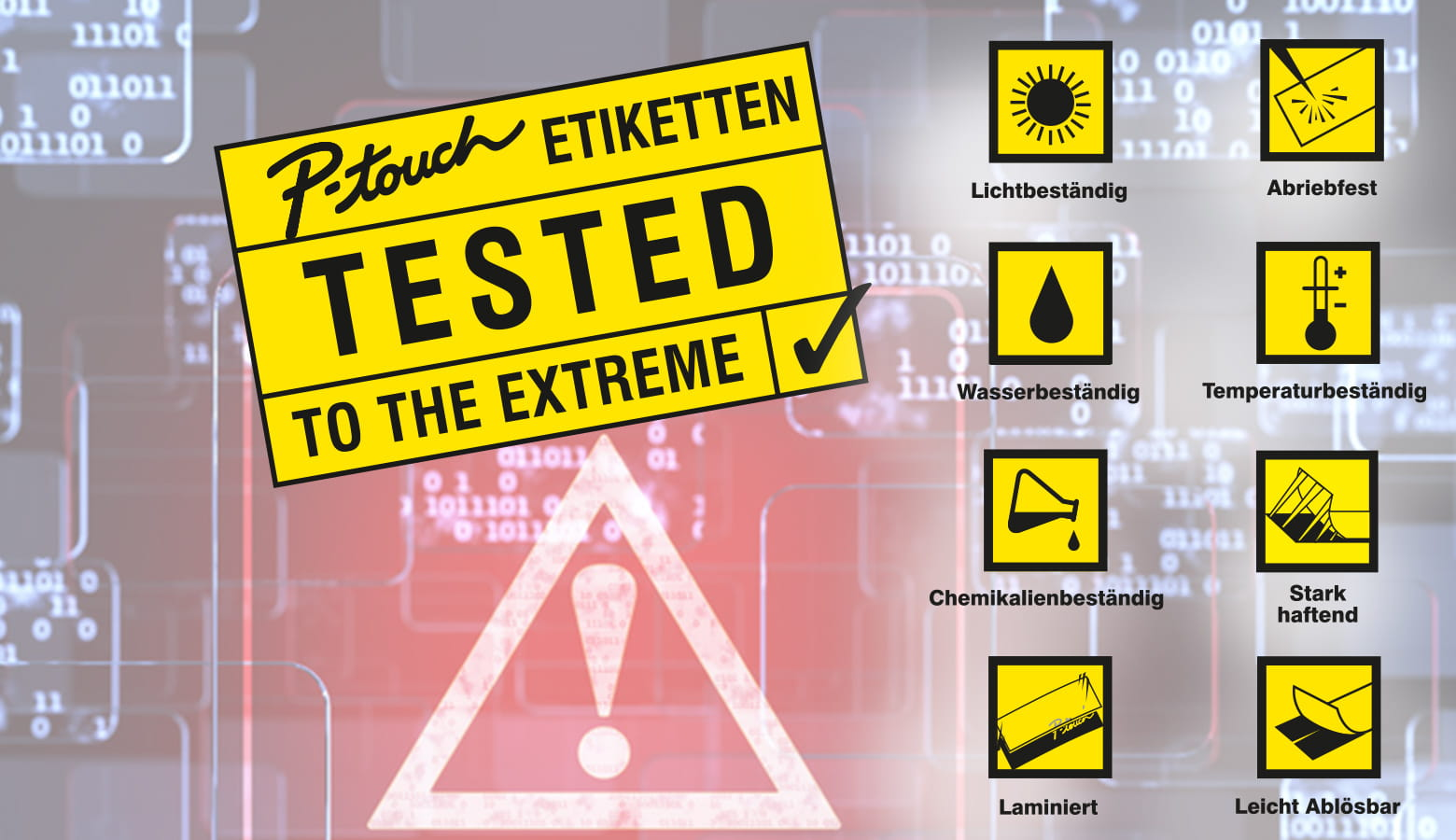 Etikett TESTED TO THE EXTREME