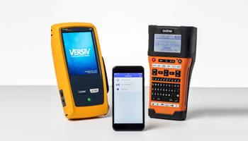 Brother Beschriftungsgeräte mit Handy APP