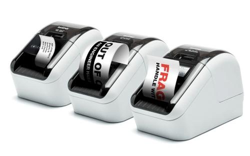 QL-800er Serie: weltweit erste Etikettendrucker mit rot-schwarz Druckfunktion