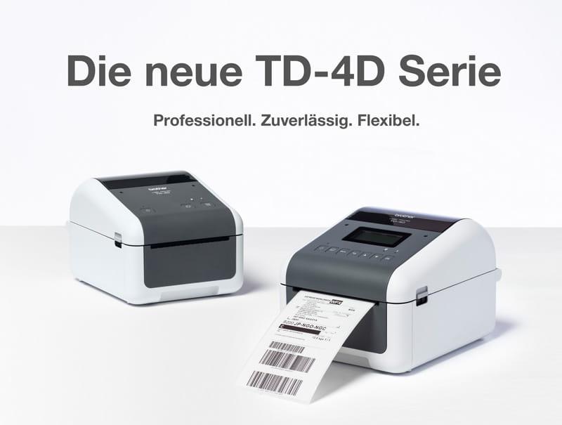 TD-4D Etikettendrucker