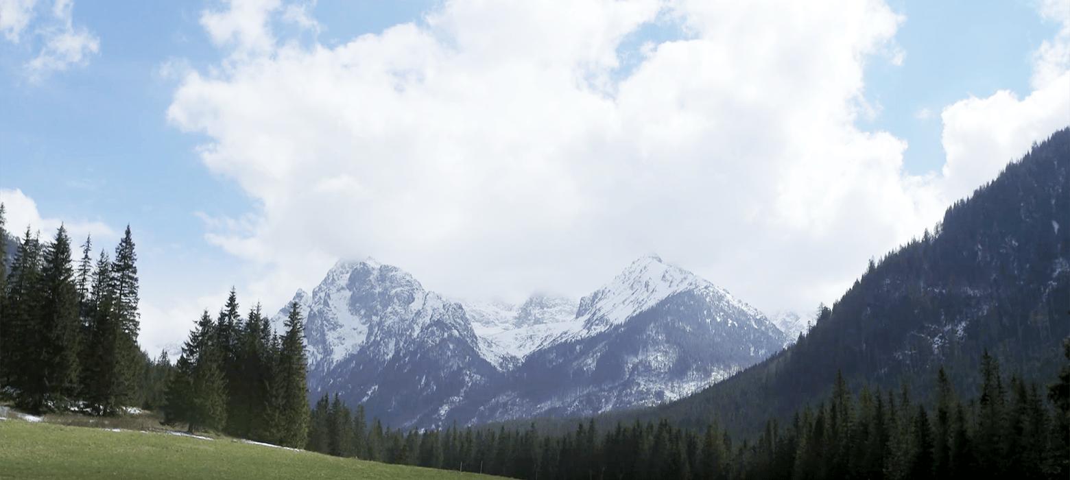 Berge der Hohen Tatra in der Slowakei