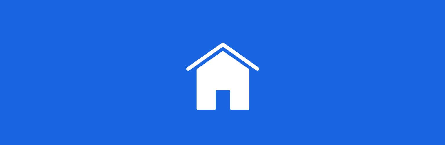 Logo mit einem Haus