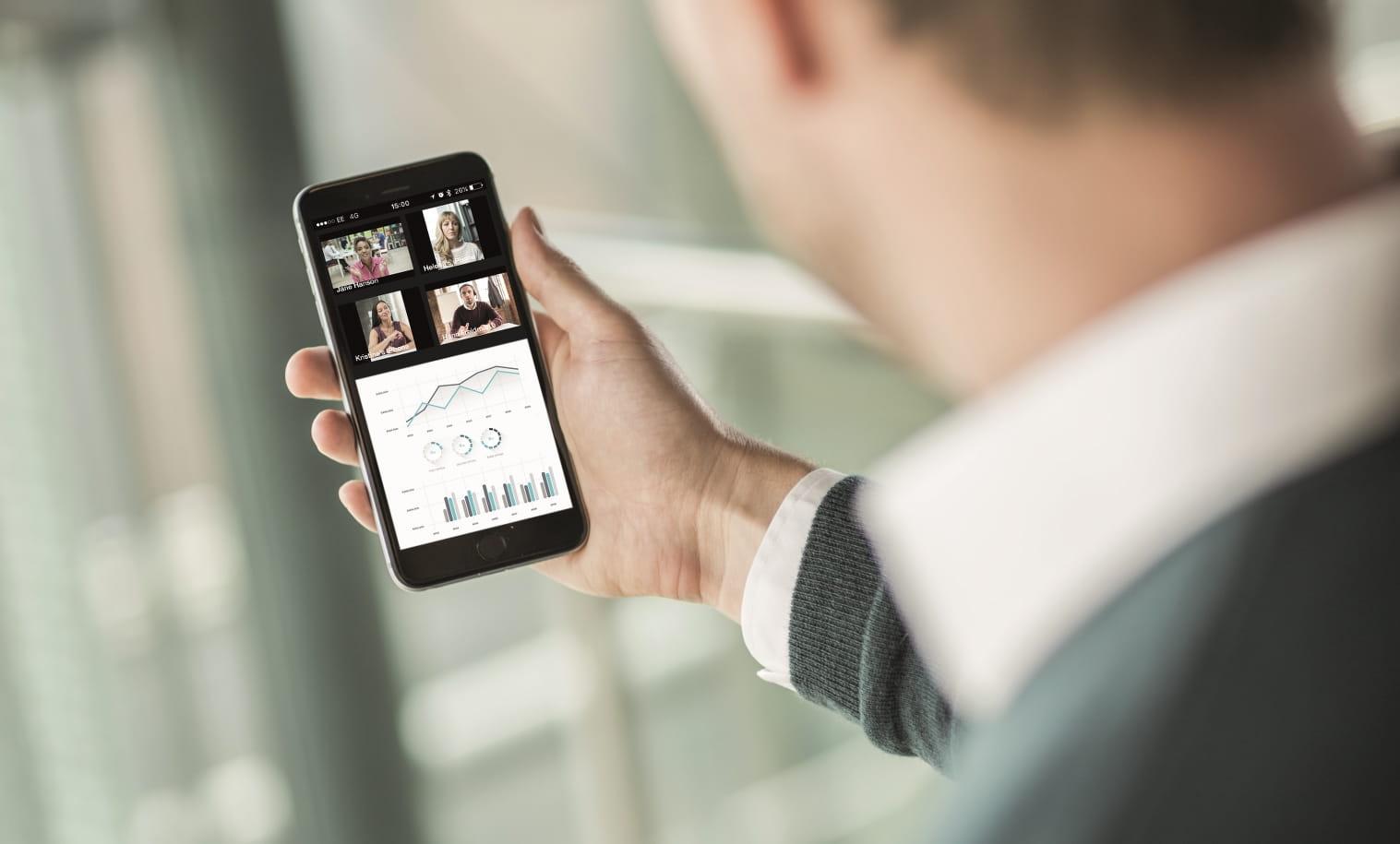 OmniJoin mobile web conferencing