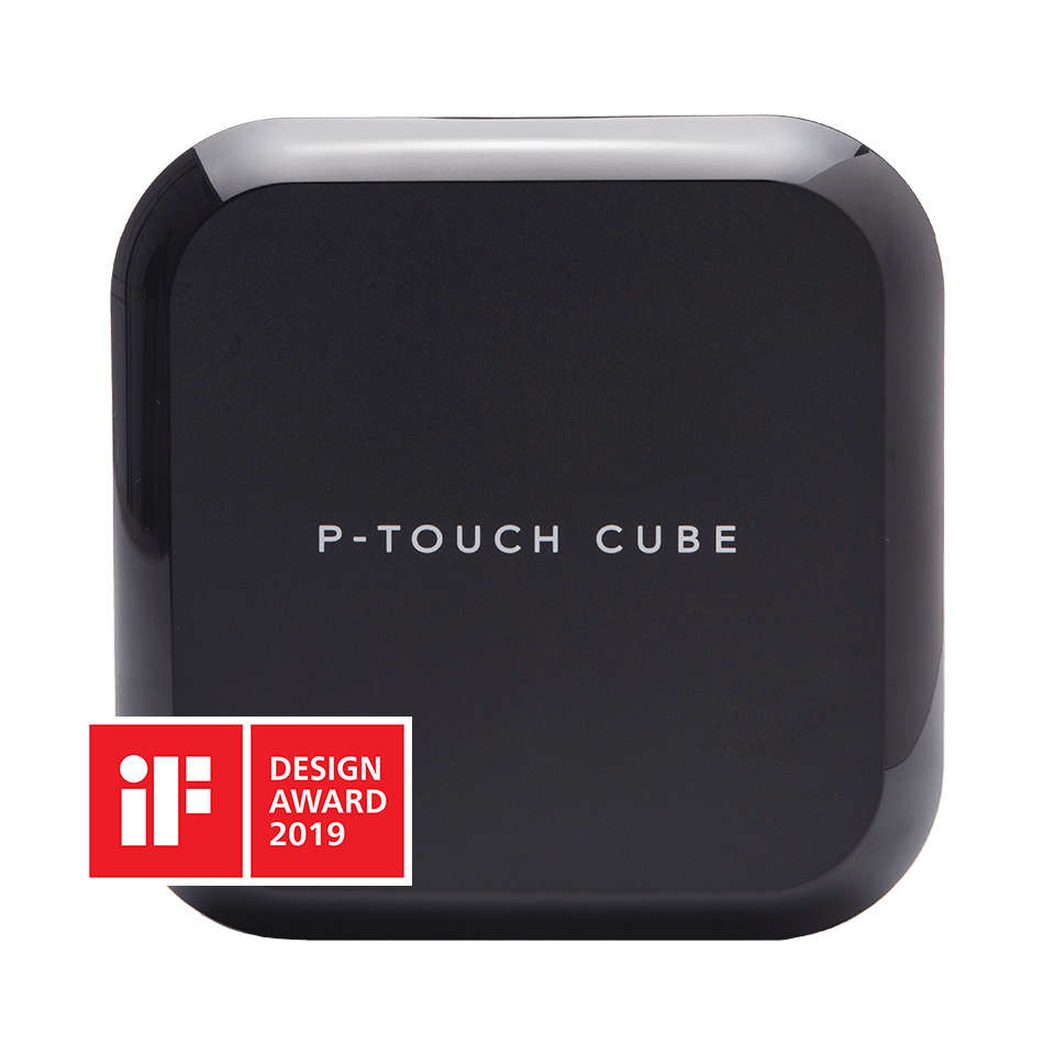 P-touch CUBE Plus (schwarzes Modell)  3