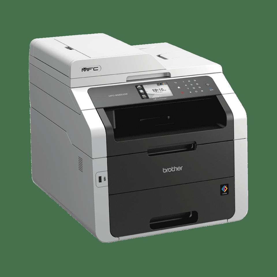 Brother Multifunktionsdrucker Laser MFC9332CDW Rechtsansicht