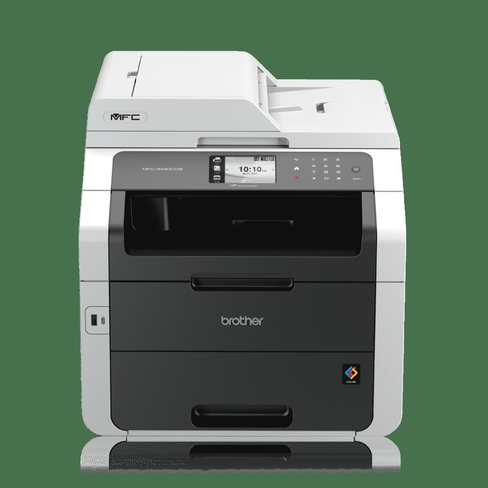 Brother Farblaserdrucker Multifunktionsgerät MFC-9342CDW - Frontansicht