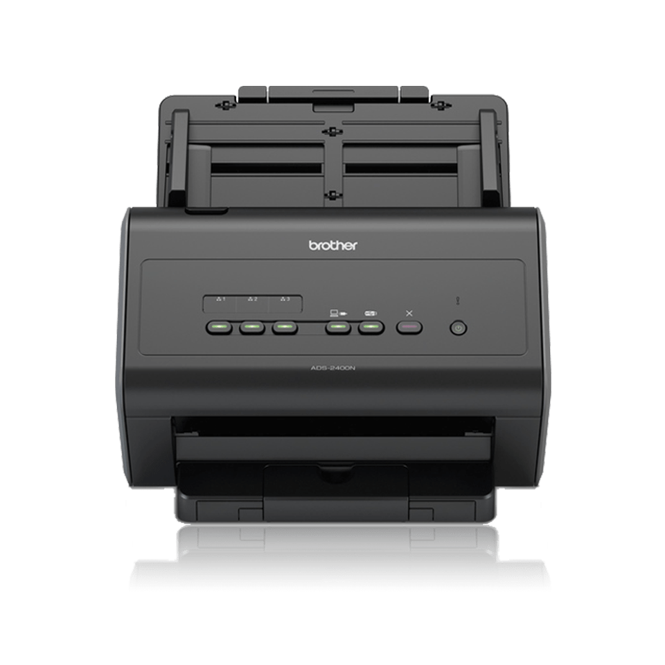 Brother ADS-2400N Frontalansicht