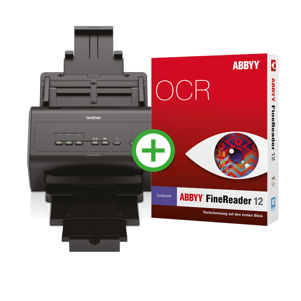 ADS-2400N FineReader Corporate Edition