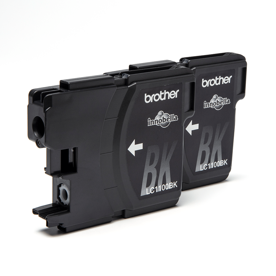 Original Brother LC-1100BK Twin Pack 2