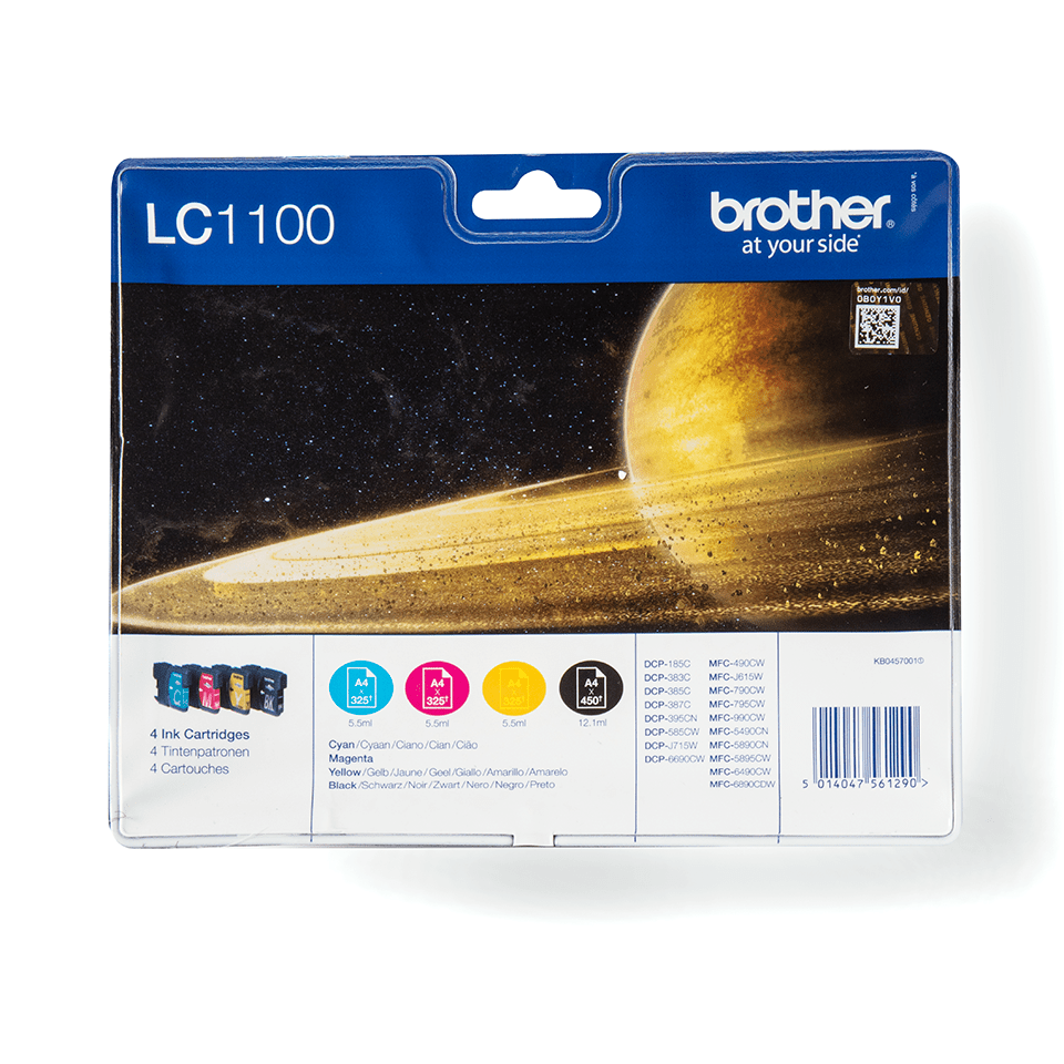 Original Brother LC-1100 Value Pack