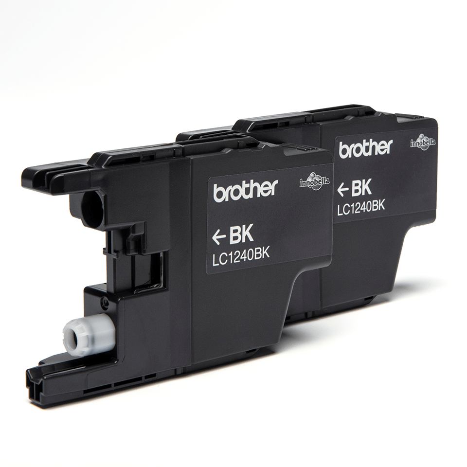 Original Brother LC-1240BK Twin Pack 2