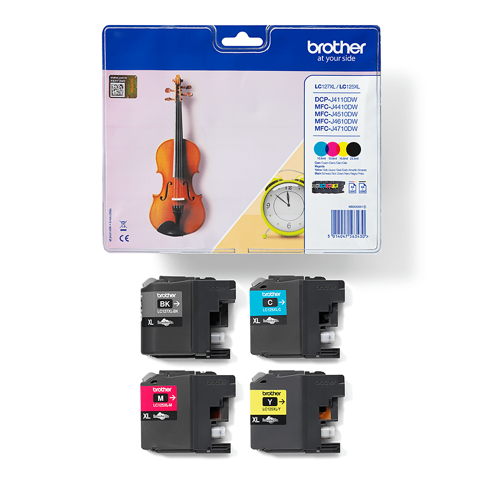 Original Brother LC-127XL Value Pack 2