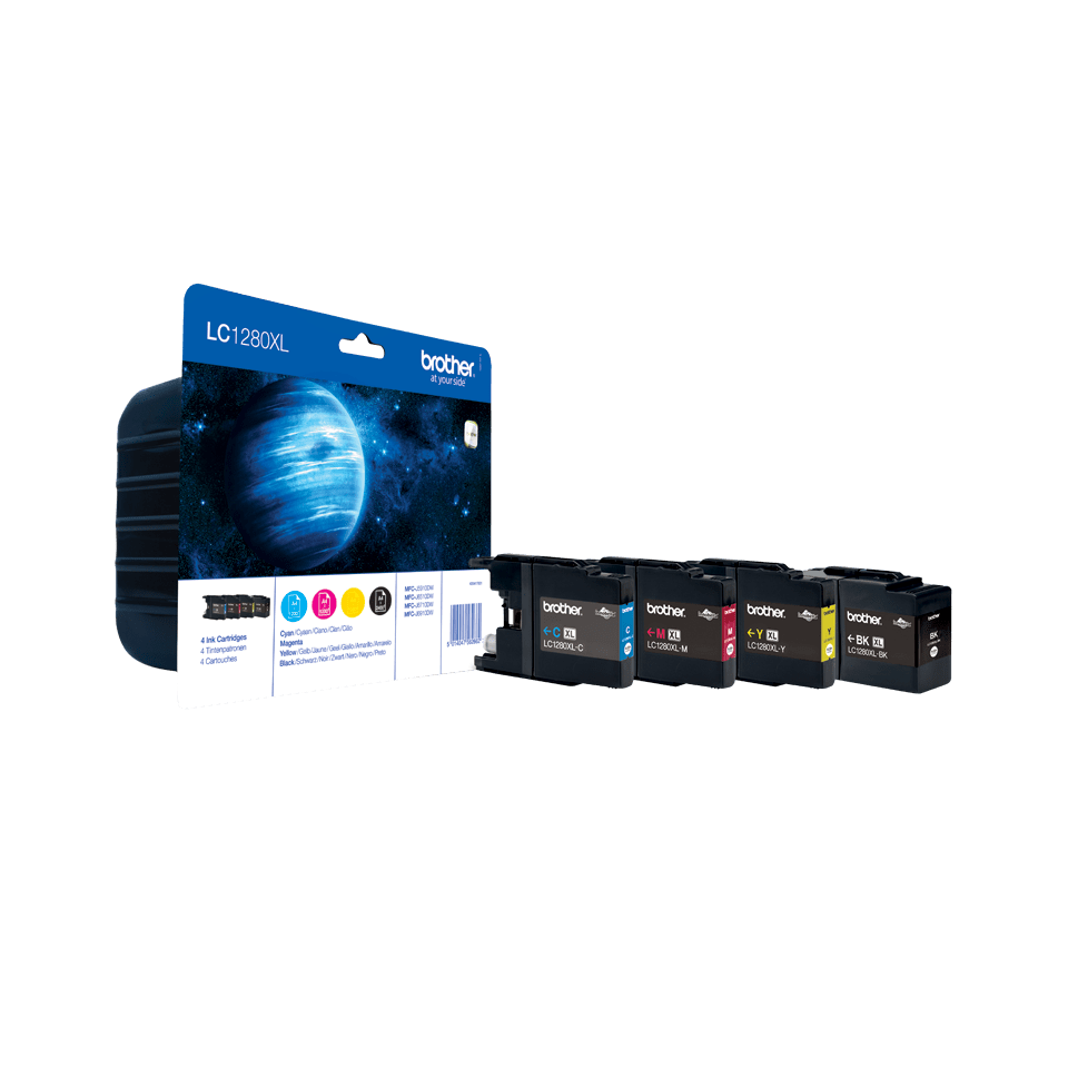 Original Brother LC-1280XL Value Pack