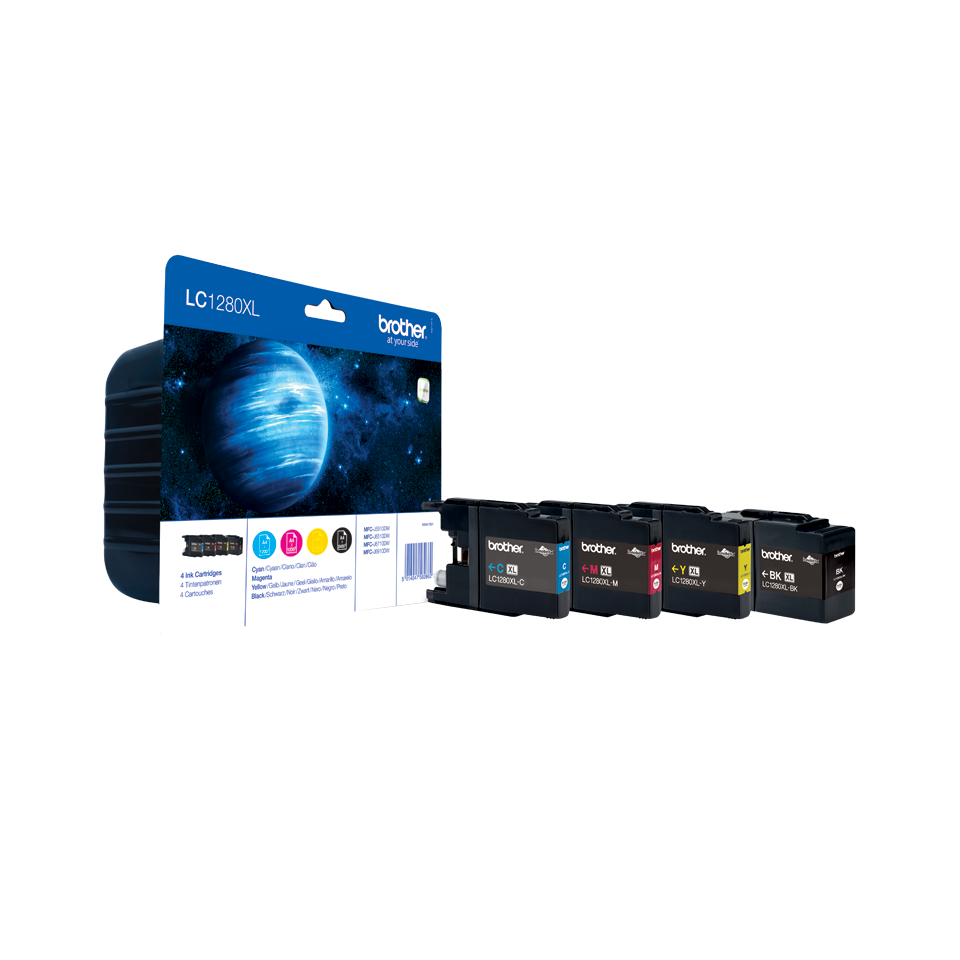 Original Brother LC-1280XL Value Pack 0